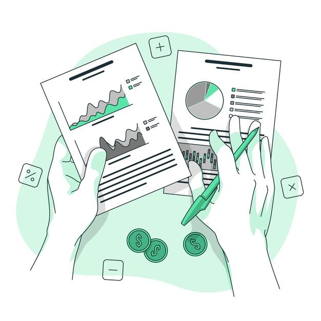 "financial data concept illustration 114360 3167 — БФ ""Александра"""